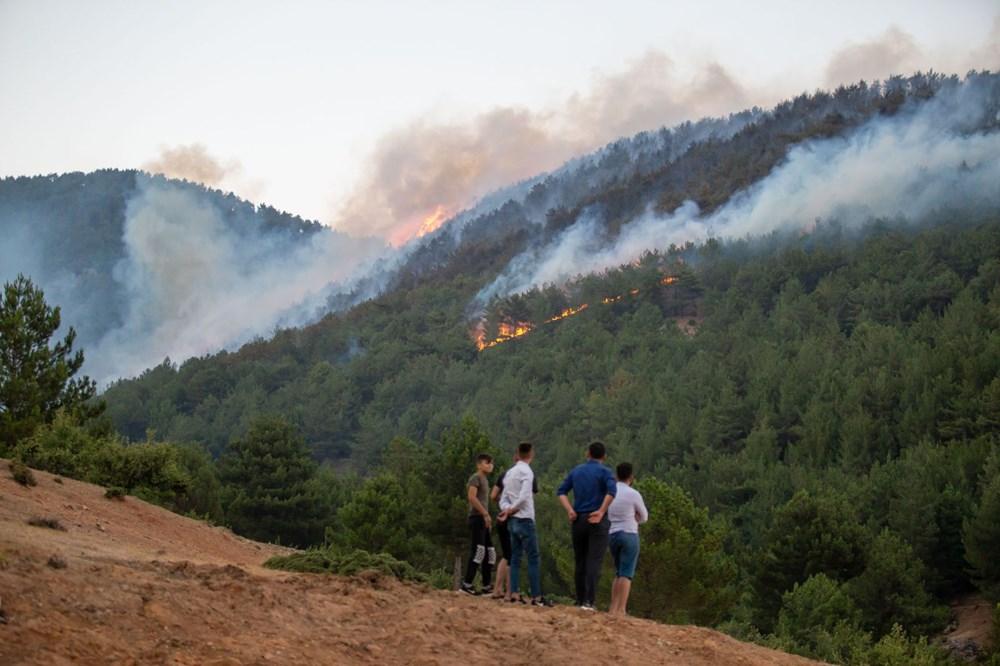Hatay ve Mersin'de orman yangını - 18