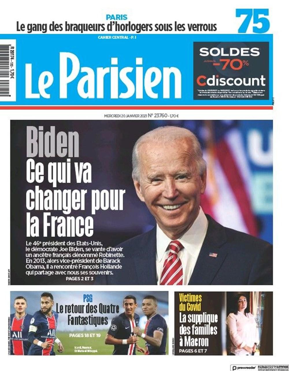 Dünya manşetlerinde Joe Biden: ABD'nin kurtuluşu - 15