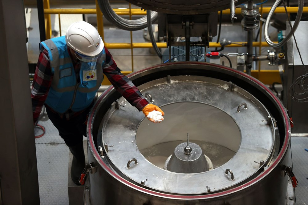 Türkiye'nin ilk lityum üretim tesisi resmen açıldı - 13
