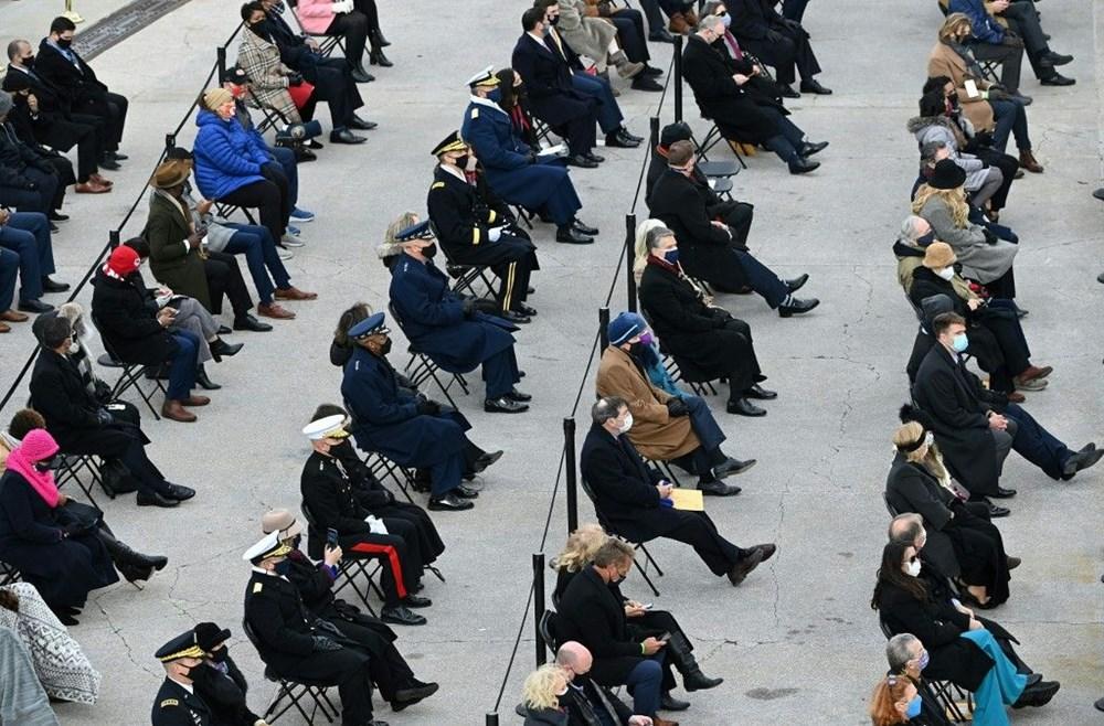 Joe Biden'ın yemin töreninden kareler (ABD'nin 46. Başkan Joe Biden göreve başladı) - 5