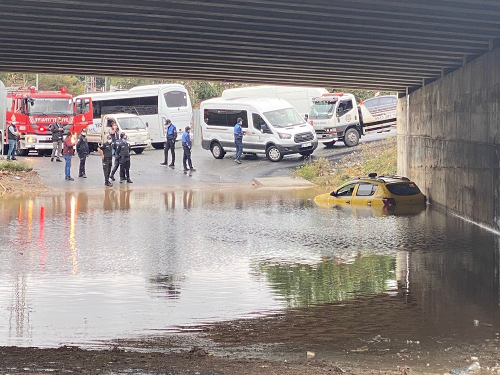 İstanbul'da sağanak yağış - 6