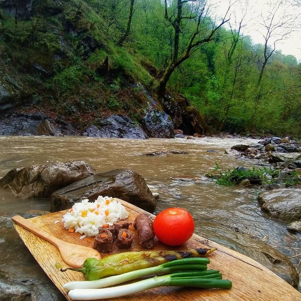 Doğanın lezzetlerini doğanın huzuruyla buluşturuyor (Doğadaki Cheff) - 24