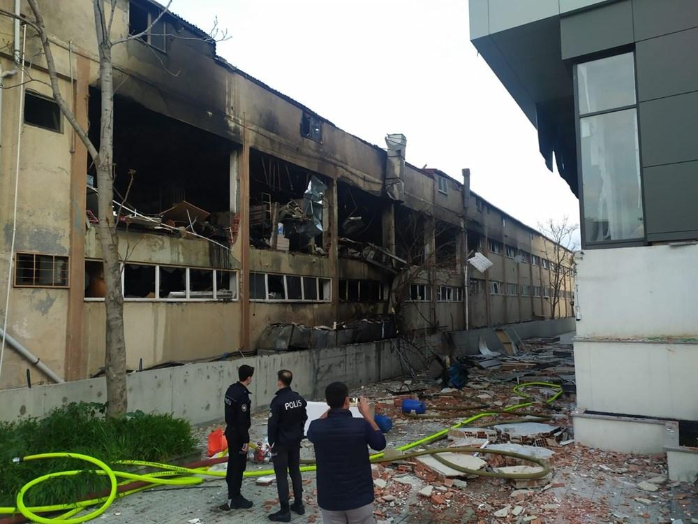 Bağcılar'da ambalaj fabrikasında patlama - 2