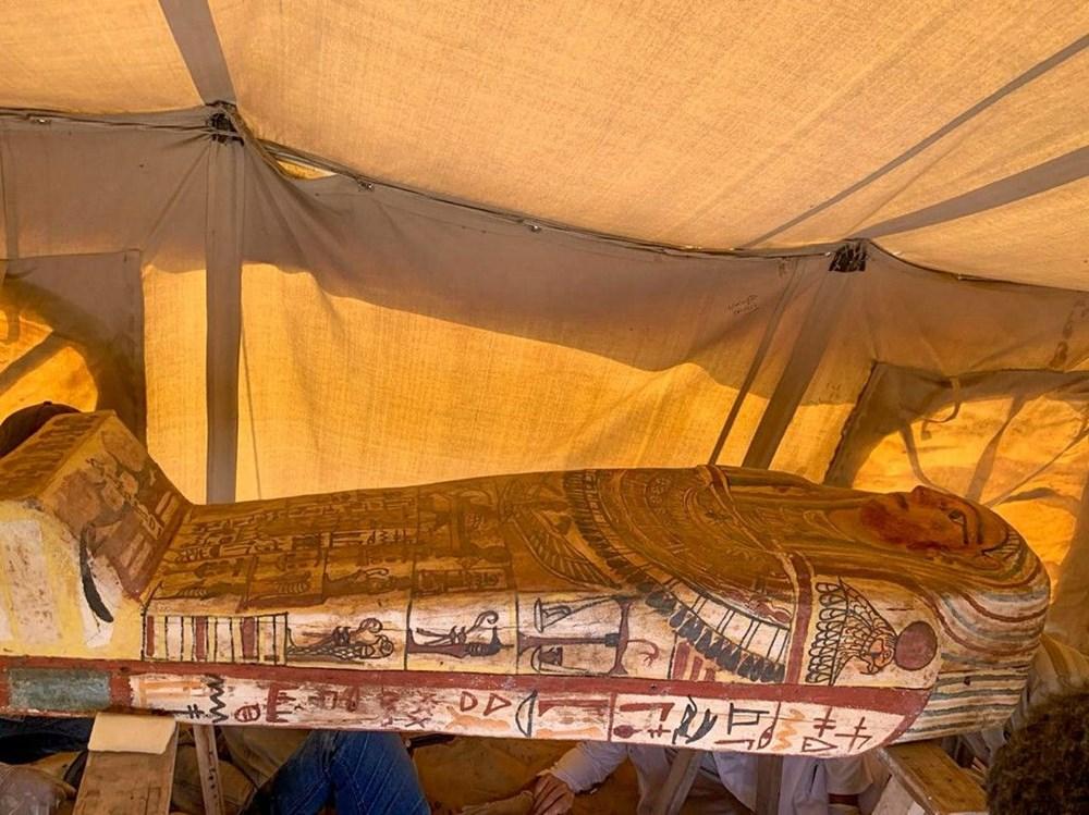 Mısır'da 2 bin 500 yıl öncesine ait 27 lahit bulundu - 3