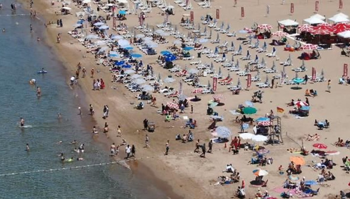 Kısıtlamasız ikinci cumartesi: Şile plajlarında yoğunluk