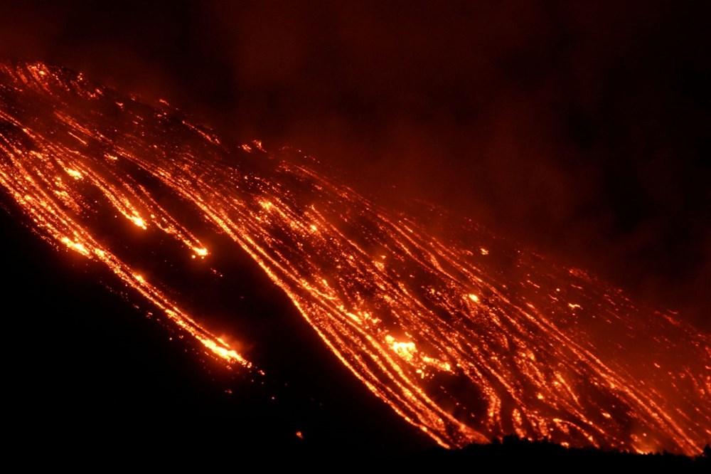 Etna Yanardağı, son bir haftada 6 kez faaliyete geçti - 12
