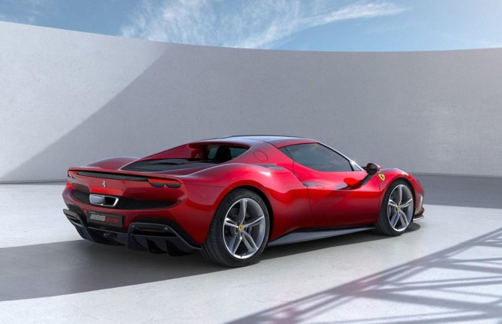 830 beygirlik hibrit Ferrari 296 GTB tanıtıldı - 4