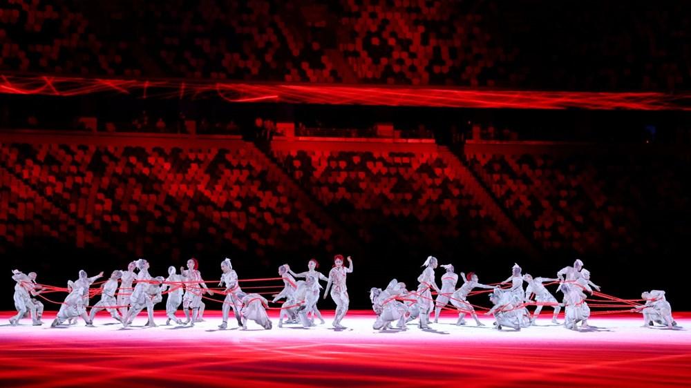 2020 Tokyo Olimpiyatları görkemli açılış töreniyle başladı - 4