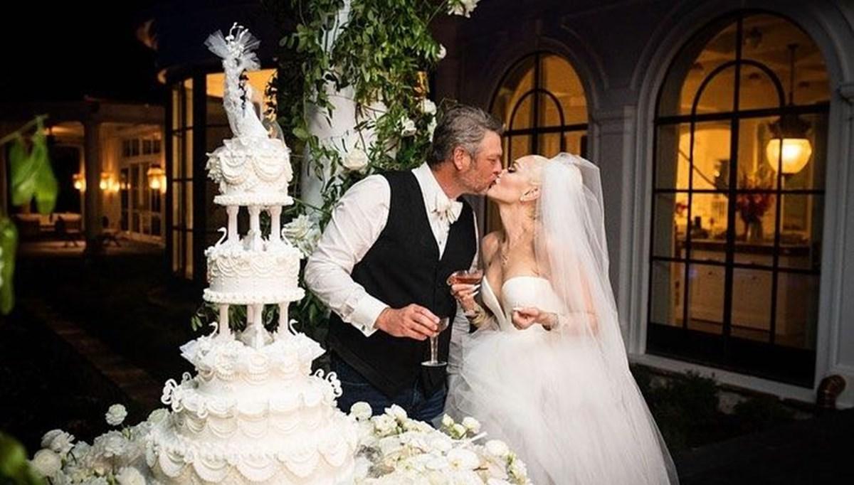 Gwen Stefani ile Blake Shelton evlendi (Düğünden fotoğraflar)