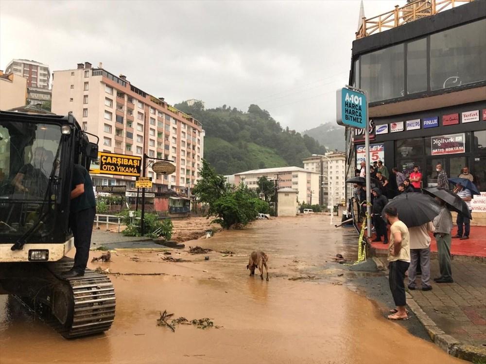 Şiddetli yağış Rize'yi de vurdu: 2 can kaybı - 16