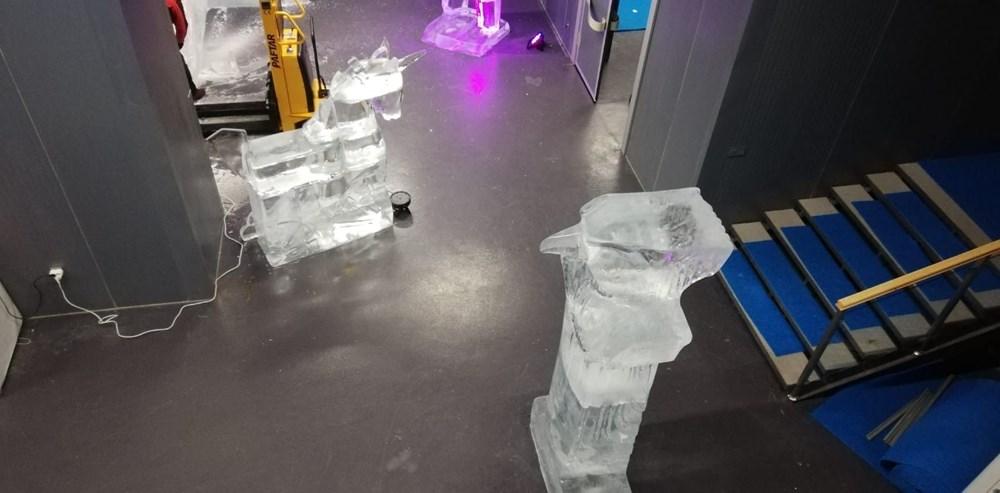 Buz'u sanata dönüştürdüler: Atabuz Müzesi 2021 yılının ilk ayında iki farklı sergiye ev sahipliği yapıyor - 6