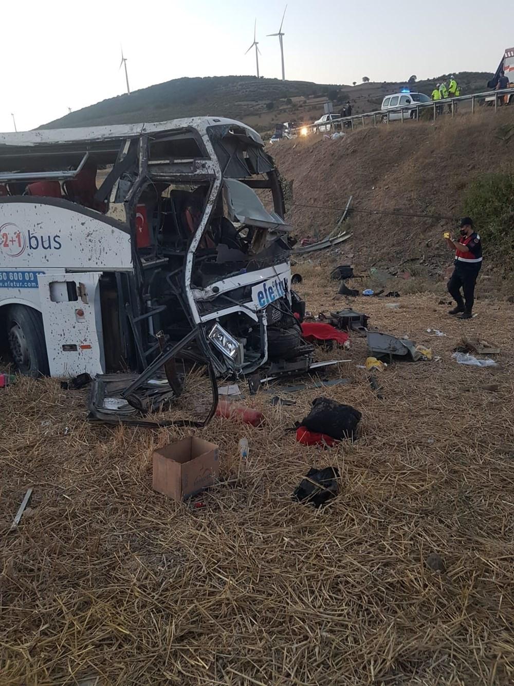 Balıkesir'de yolcu otobüsü devrildi: 14 kişi hayatını kaybetti - 2