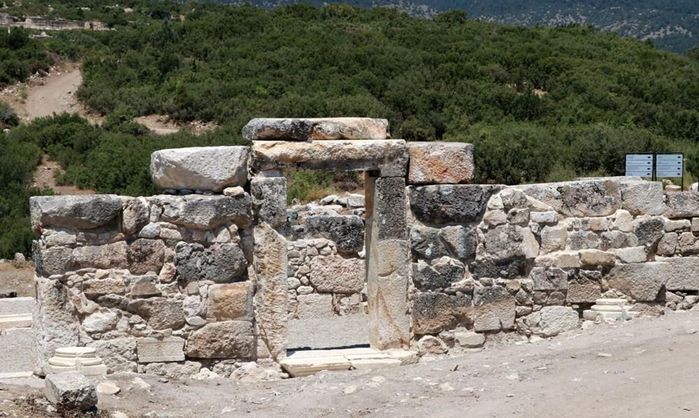 Kibyra'da ilk defa bazilikal planlı kilise bulundu - 5