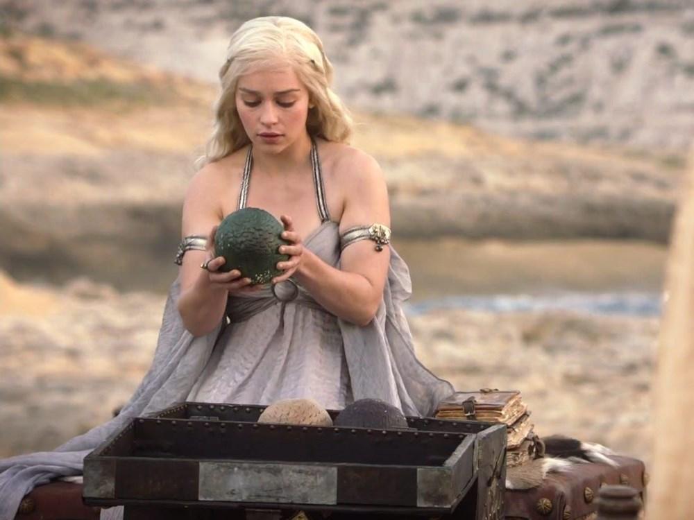 2,2 milyon dolarlık Game of Thrones ejderha yumurtası satışta - 2