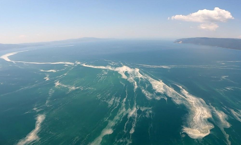 Müsilaj havadan görüntülendi: Deniz salyası her yerde - 10