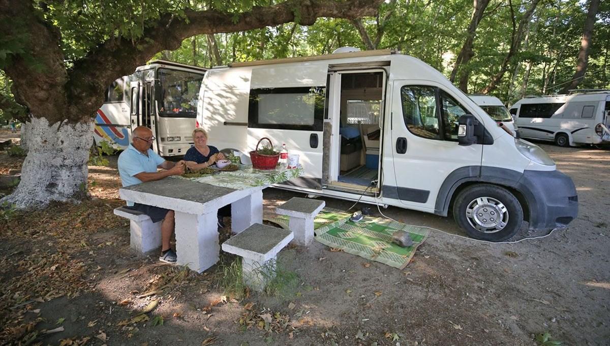 Tescilli tost ve ayranıyla ünlü Susurluk, kamp ve karavan turizminin yeni adresi olma yolunda