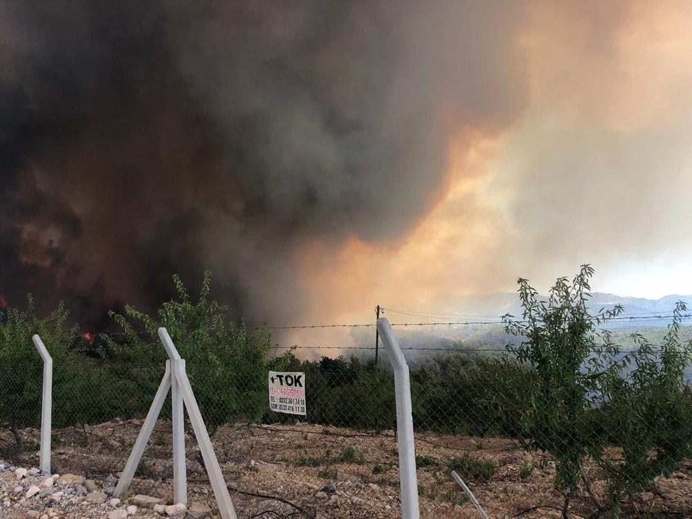 Antalya Manavgat'ta büyük orman yangını - 6