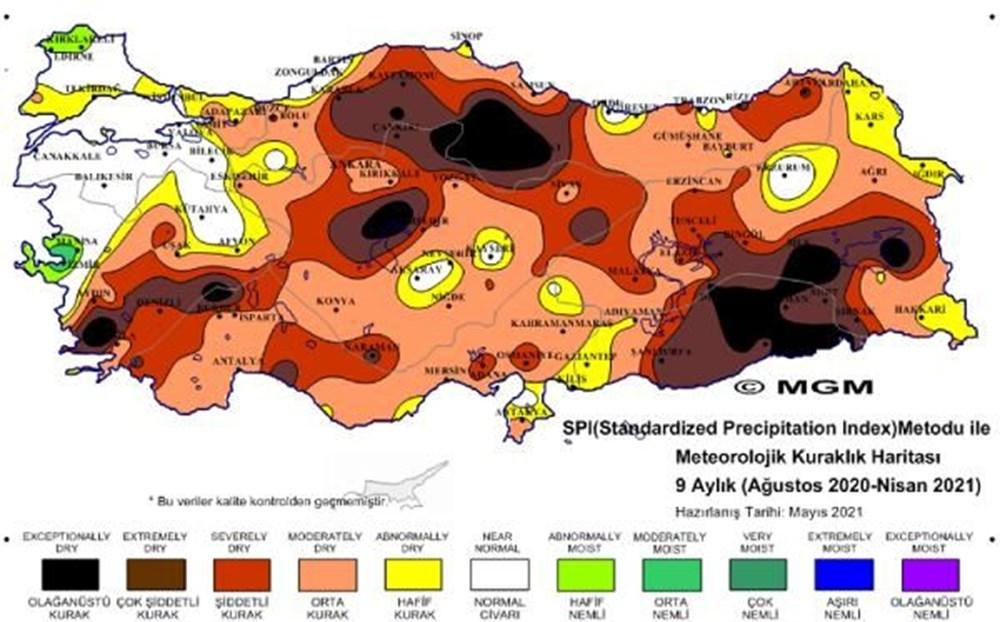 Üç bölgede 'olağanüstü' kuraklık - 8