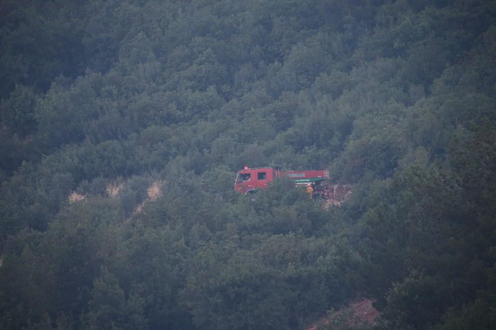 Mersin ve Hatay'da orman yangınları devam ediyor - 5