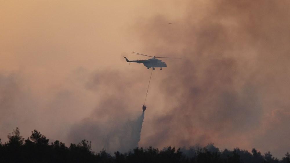 Gelibolu Yarımadası'nda orman yangınında son durum - 3