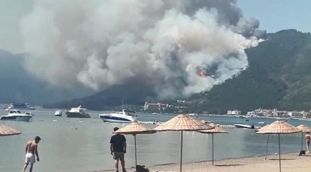 Marmaris'teki orman yangınından acı haber - 9