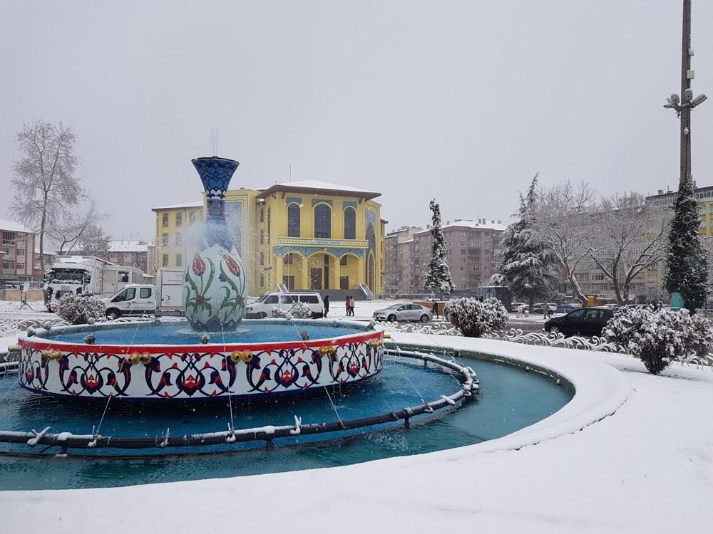 Yurtta kar yağışı (İzmir'in yüksek kesimlerinde kar yağışı etkili oluyor) - 12