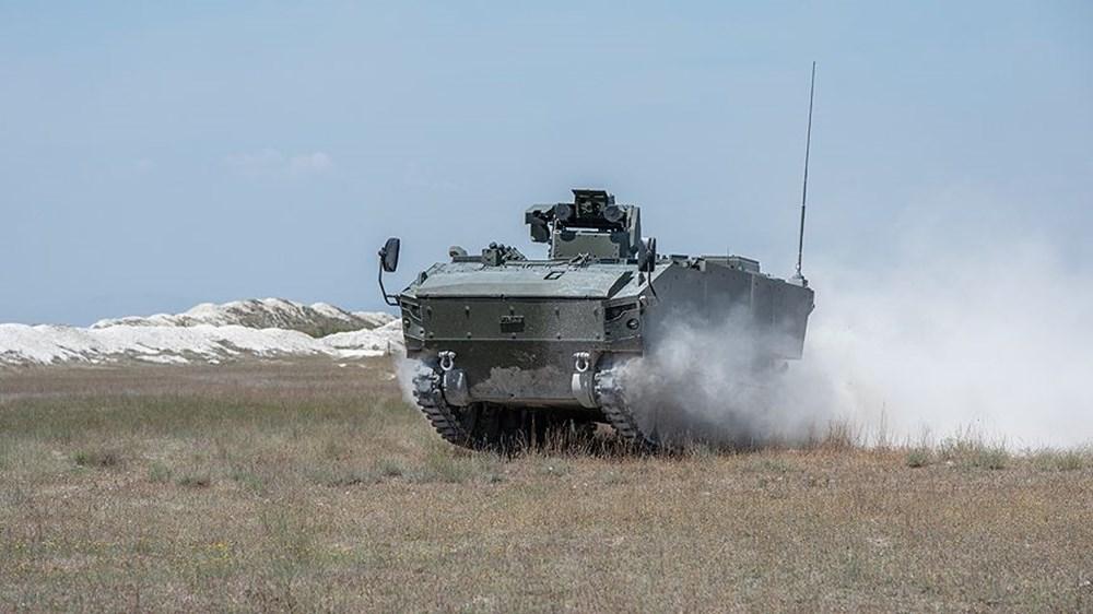Dijital birliğin robot askeri Barkan göreve hazırlanıyor (Türkiye'nin yeni nesil yerli silahları) - 267