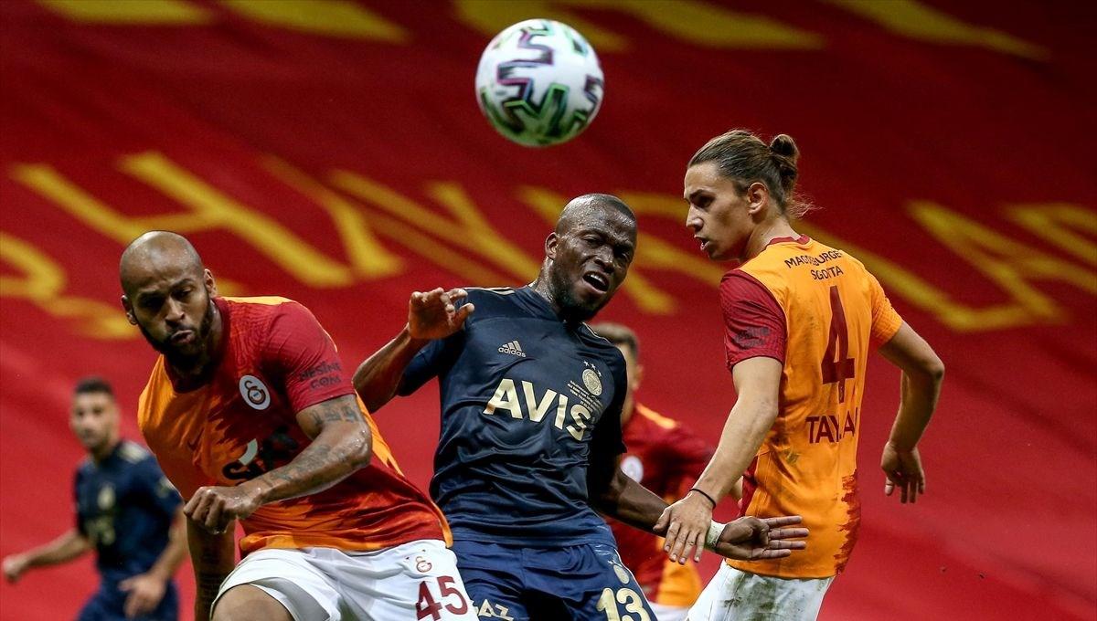 Galatasaray-Fenerbahçe derbisinde gol sesi çıkmadı
