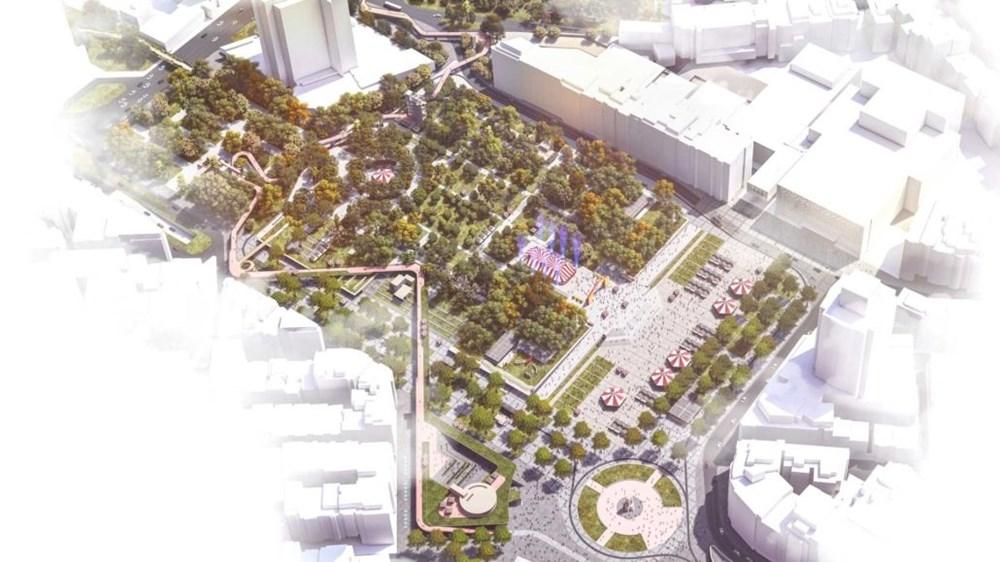 Taksim Meydanı Tasarım Yarışması sonuçlandı (Taksim Meydanı böyle olacak) - 4