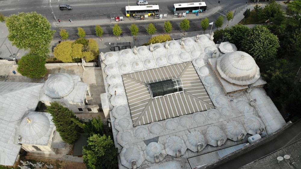 Üsküdar'daki 472 yıllık tarihi camiiye klima ünitesi - 4
