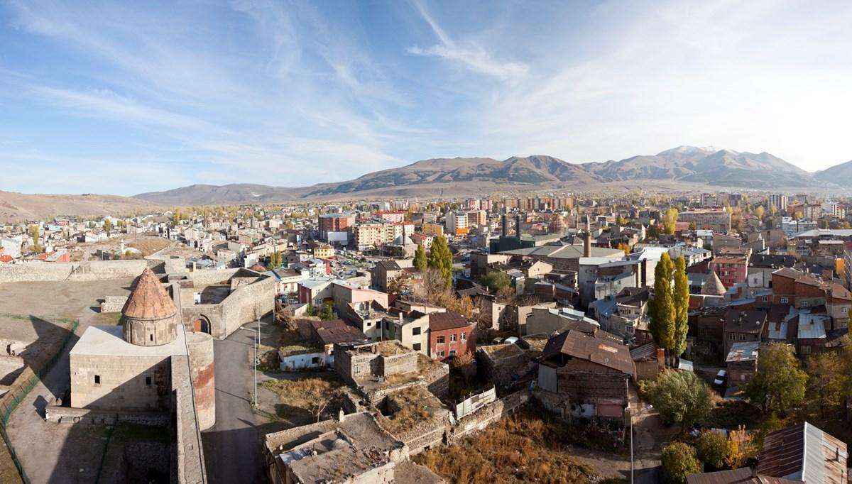 Doğu'da gece en düşük sıcaklık sıfırın altında 1 dereceyle Erzurum'da ölçüldü
