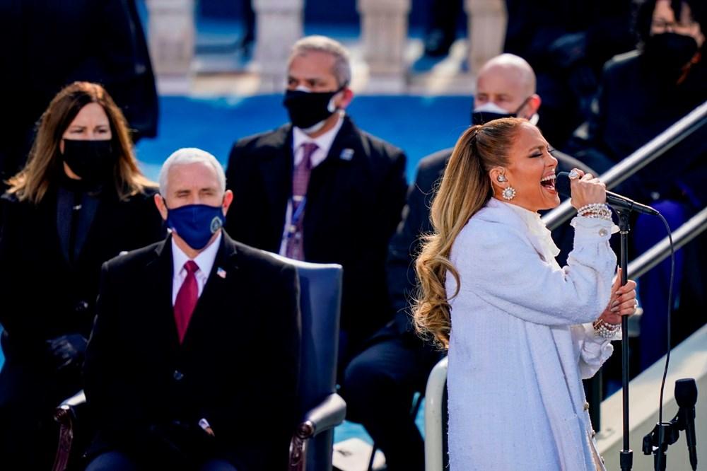 Yemin töreninde Jennifer Lopez'den İspanyolca mesaj - 2