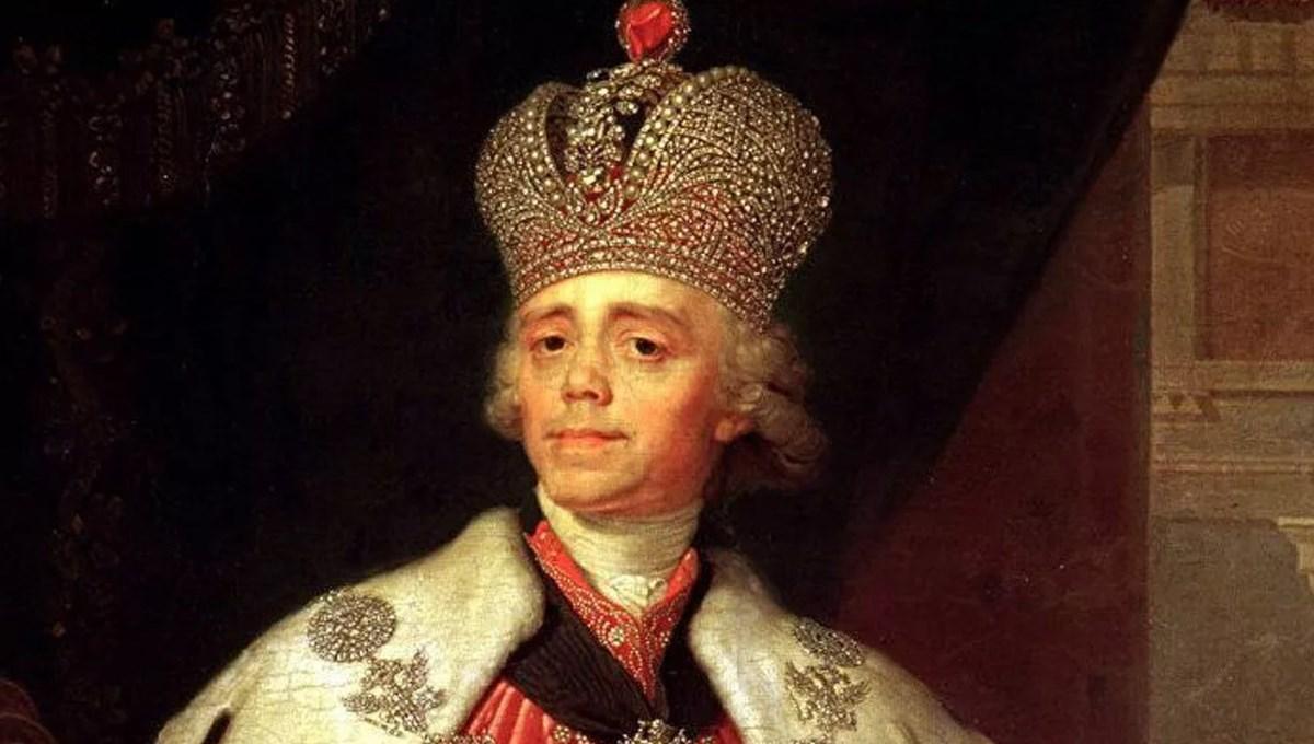 Rus imparator I. Pavel'in portresine 1.3 milyon dolar
