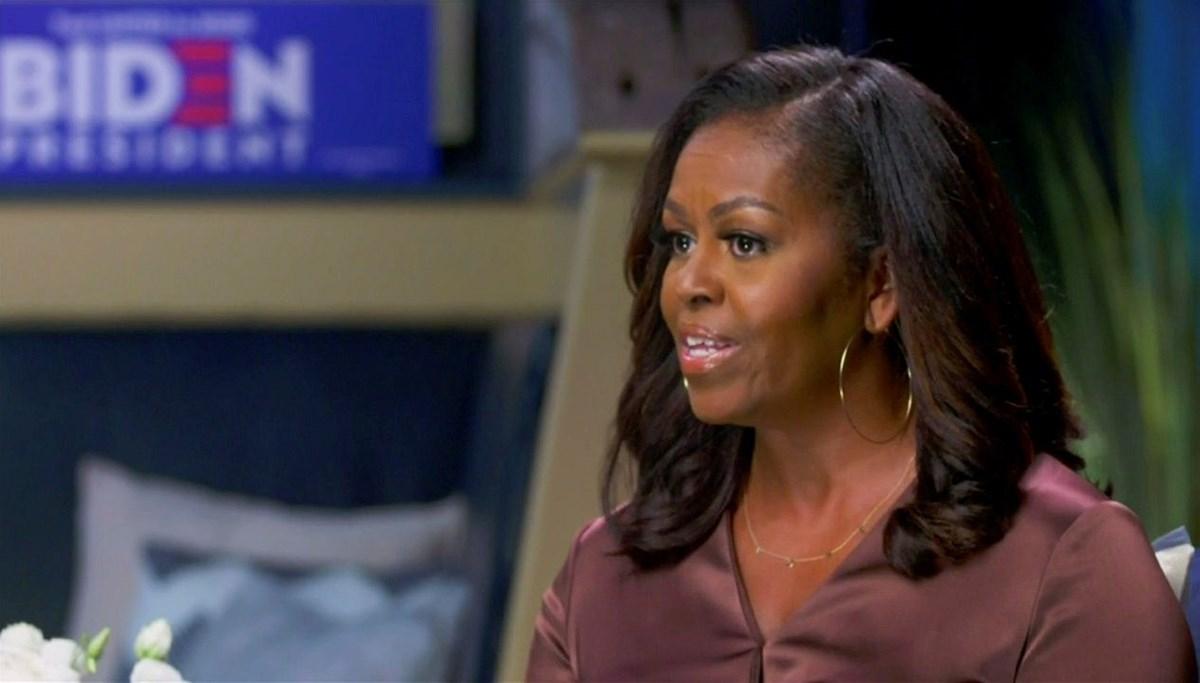 Eski First Lady Michel Obama Demokrat Parti kurultayına damga vurdu: Biden'ın adaylığı resmileşiyor