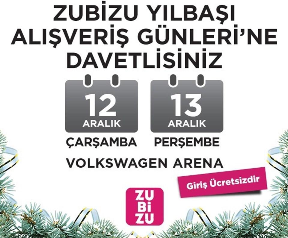 Zubizu Alışveriş Günleri bu yıl Çarşamba-Perşembe günleri yine Maslak Uniq'de.