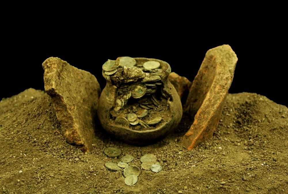 Aizanoi Antik Kenti'nde 'Roma'nın sikke koleksiyonu' bulundu - 6