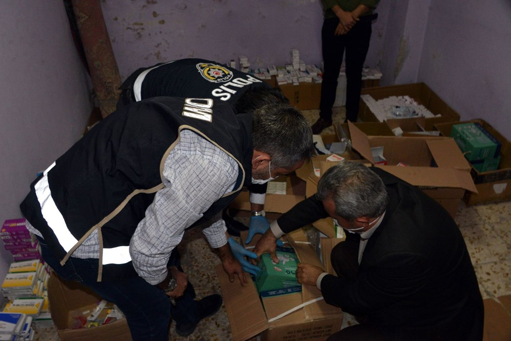 Suriyelilerin işlettiği 6 kaçak kliniğe polis baskını - 8