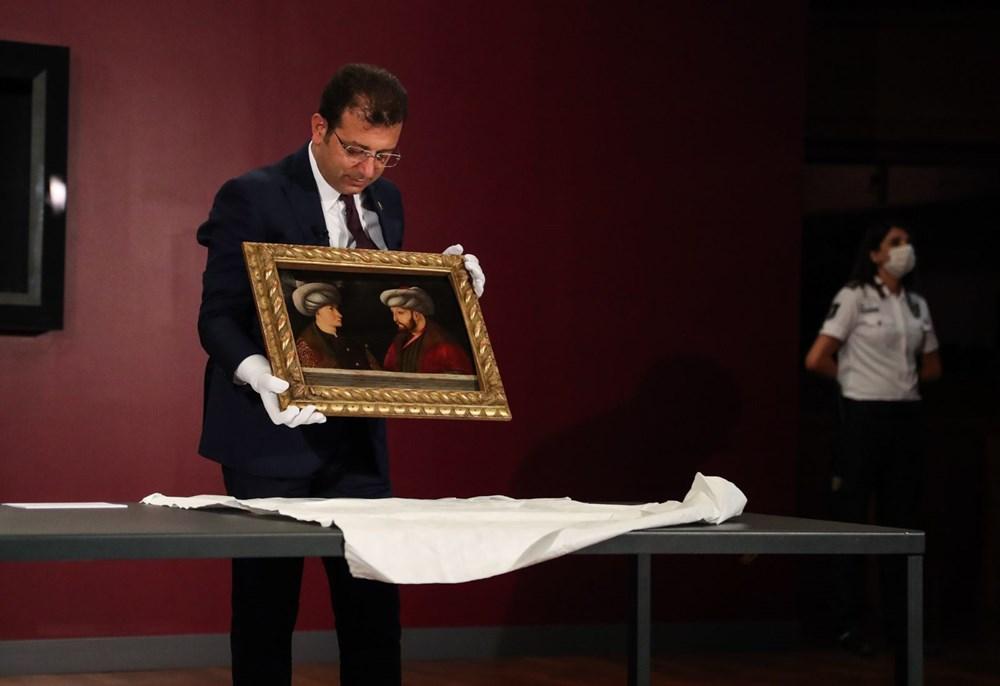 Fatih Sultan Mehmet'in tablosu ilk kez gösterildi - 3