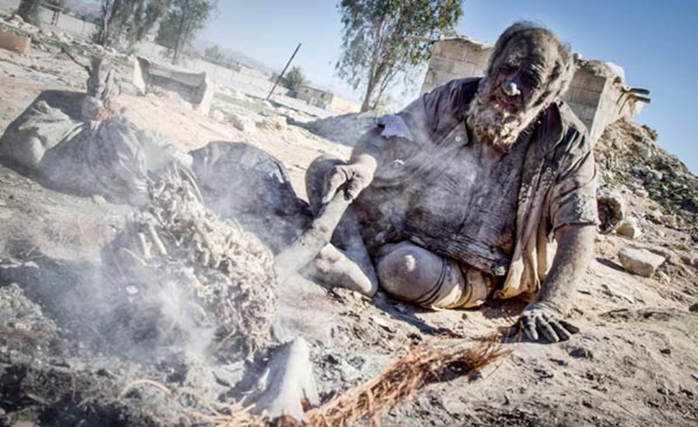 65 yıldır yıkanmayan adam: Amoo Hadji - 7