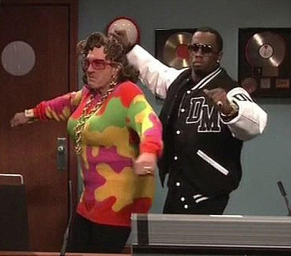 Robert DeNiro ve P Diddy dans ediyor