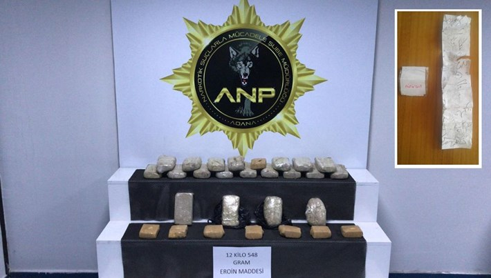 Yakalanmamak için uyuşturucu paketlerinin yanına muska koydular (Adana)