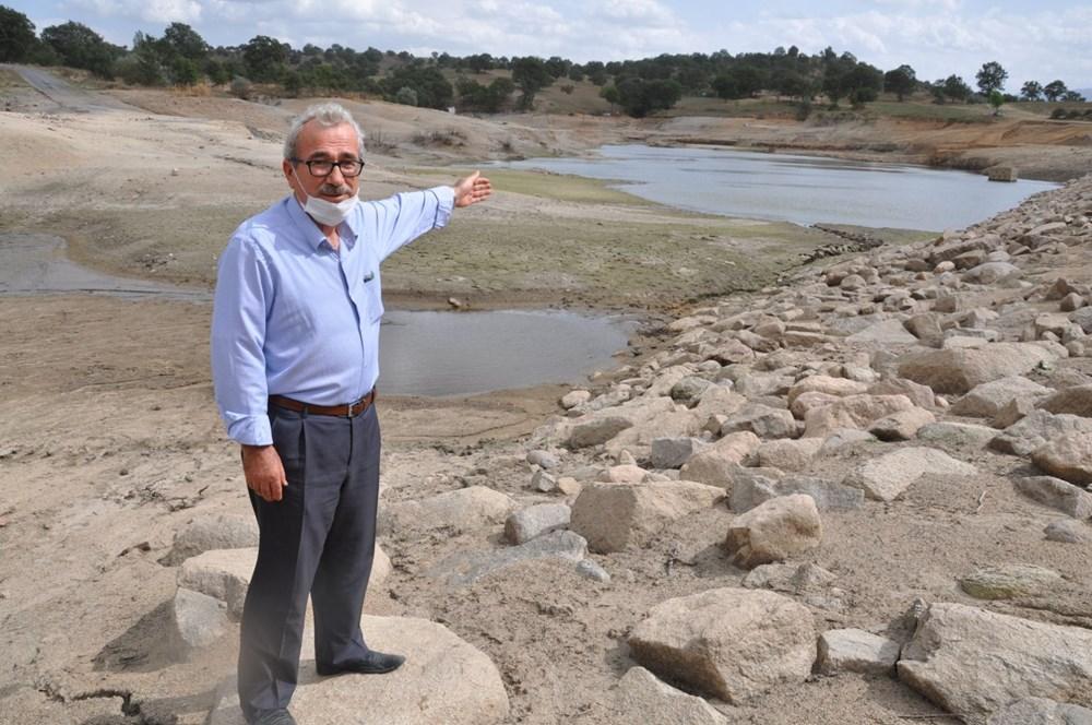 Efir Göleti'inde su seviyesi yüzde 80 azaldı - 4