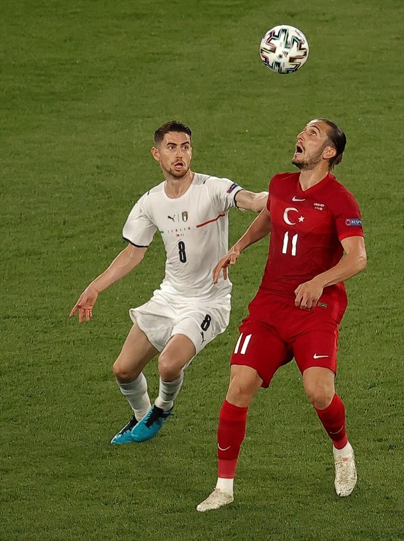 Milli Takım açılış maçında İtalya'ya yenildi (EURO 2020 - Türkiye:0 İtalya:3) - 9