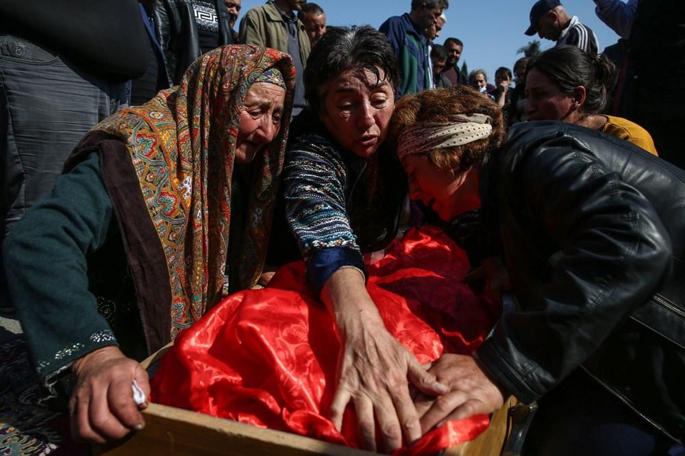 Hain saldırının küçük kurbanları: Cenazede gözyaşları sel oldu - 12