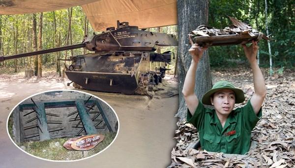 Amerikan askerlerinin korkulu rüyası olan yer: Vietnam Cu Chi Tünelleri