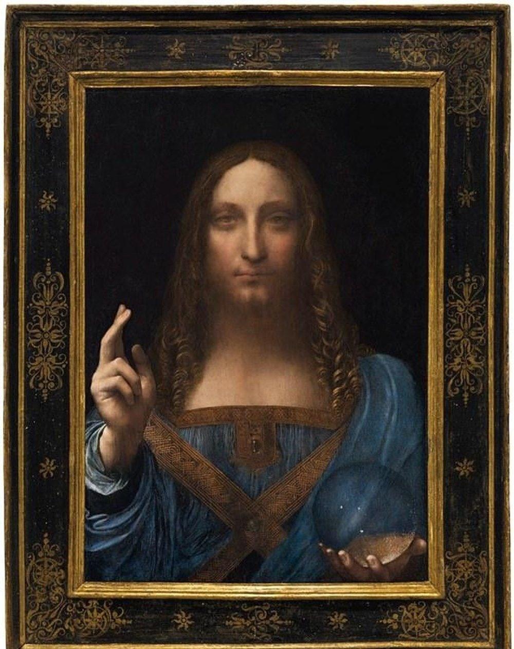 Dünyanın en pahalı tablosu olan Leonardo da Vinci'nin Salvator Mundi'si NFT olarak satışta - 1