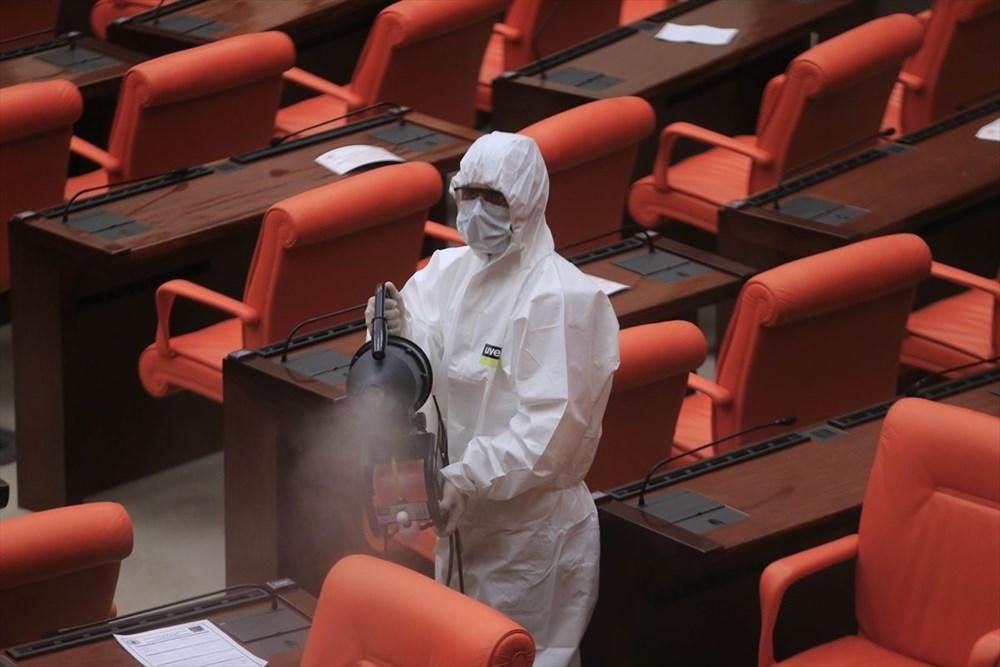 Meclis'te virüs paniği - 2