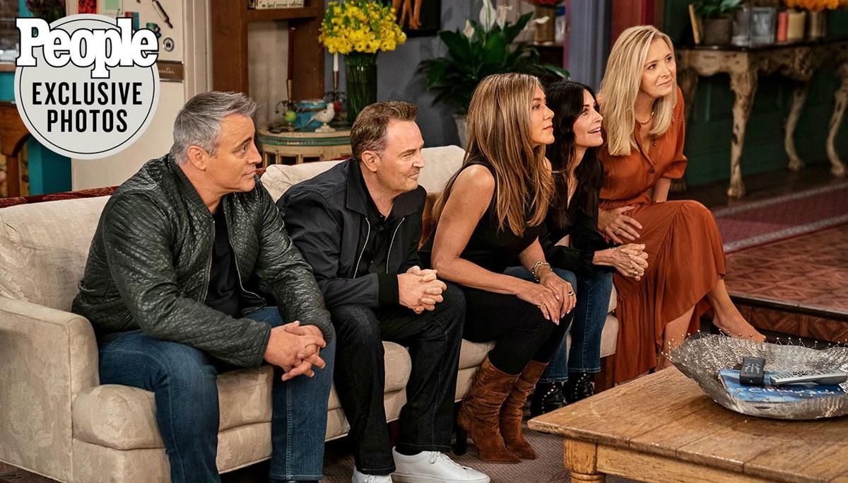 Friends'in özel bölümü Friends: The Reunion'dan ilk görseller