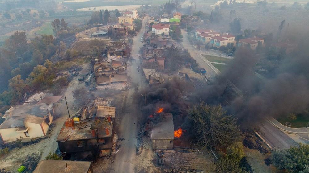 Manavgat'taki yangın evleri kül etti - 4