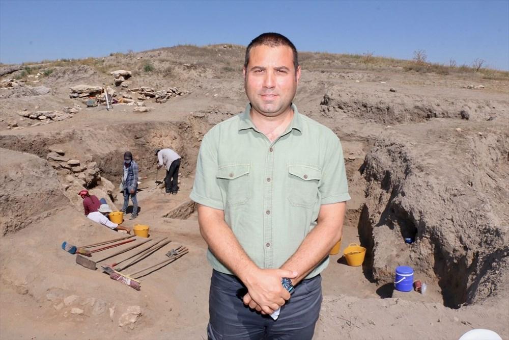 Eskişehir Küllüoba kazısında 5 bin yıllık boya paleti bulundu - 6